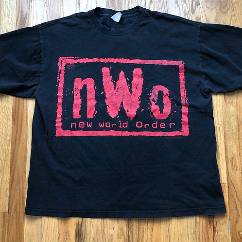 Men's Vintage New World Order T Shirt Tee Sz 2XL