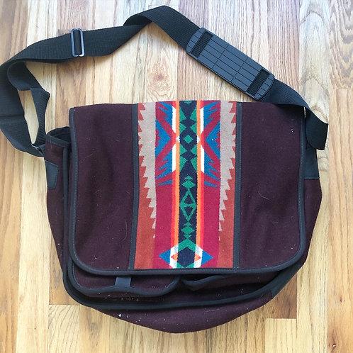 Vintage Pendleton High Grade Western Wear Messenger Bag