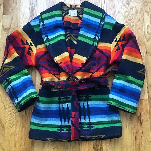 Women's Vintage Pendleton USA Aztec Jacket Sz L/XL