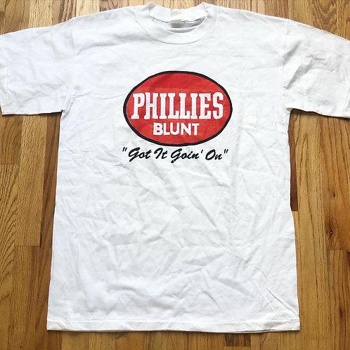 Vintage Phillies Blunt Bootleg T Shirt Tee Sz L