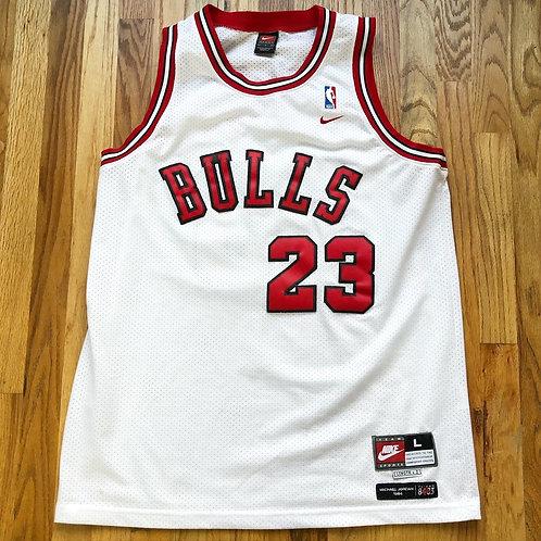 Nike Chicago Bulls Michael Jordan 1984 Swingman Jersey Sz L