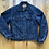 Thumbnail: Vintage Levi's USA Blanket Lined Denim Jean Jacket Sz 36 (S)