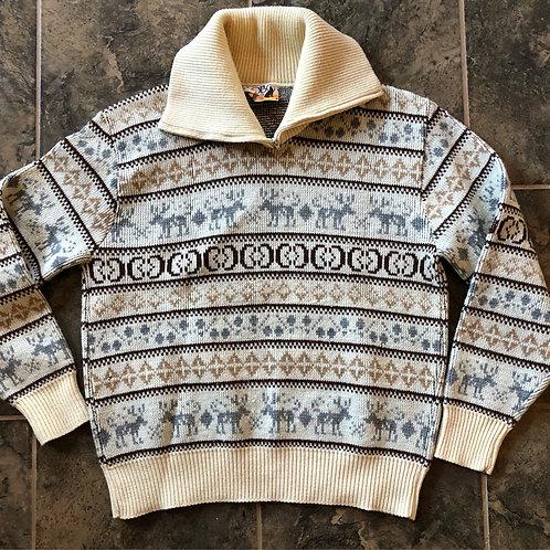 Vintage Lobo by Pendleton Wool Sweater Sz S