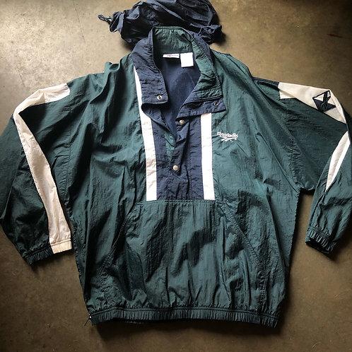 Vintage Reebok Windbreaker Jacket Sz L