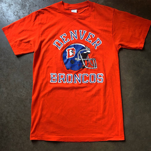 Vintage 80s Champion Denver Broncos T Shirt Tee Sz M