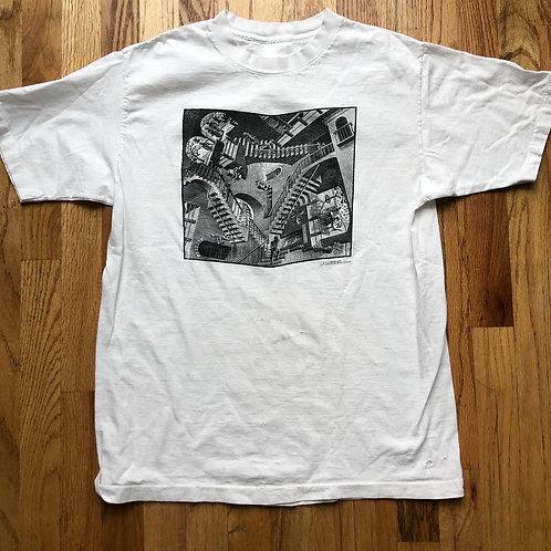 Vintage Sof Tees M.C Escher Relativity T Shirt Tee Sz M