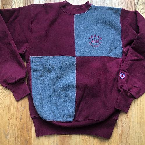 Vintage Texas A&M Crewneck Sweatshirt Sz M
