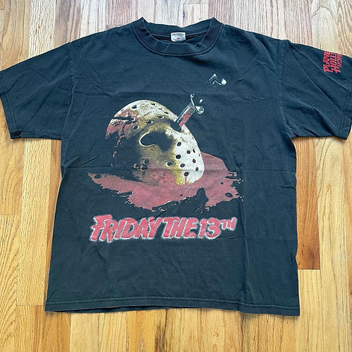 Vintage Friday The 13th Made In Hell Jason Movie Promo T Shirt Tee Sz M