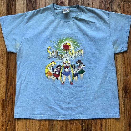 Vintage 1999 Delta Sailor Moon T Shirt Tee Sz S