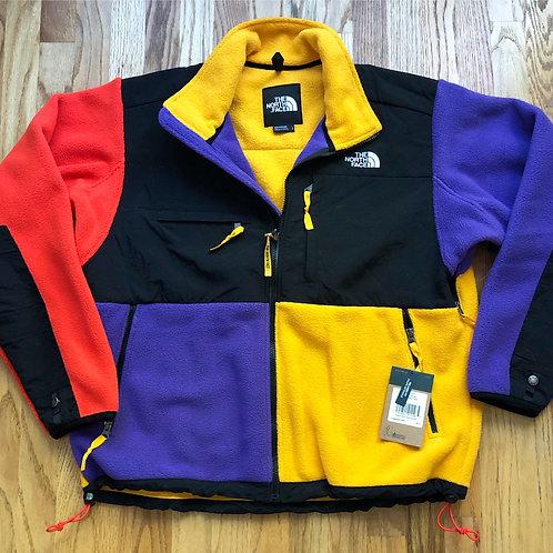 NWT The North Face 1995 Retro Color Block Denali Fleece Jacket Sz L
