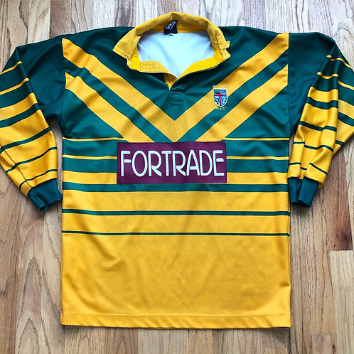 Vintage Beddau RFC Rugby Jersey Sz L