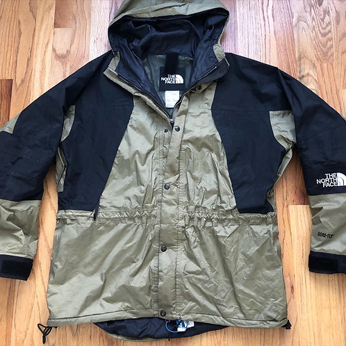 Vintage The North Face Mountain Light Gore Tex Olive Green Jacket Sz XL