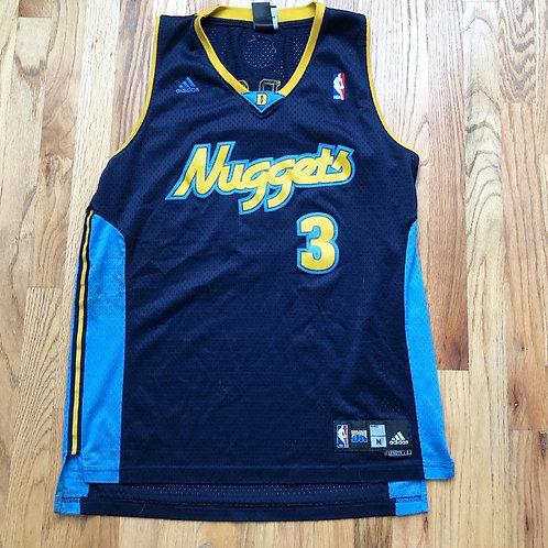 Adidas Swingman Denver Nuggets Allen Iverson Jersey Sz M