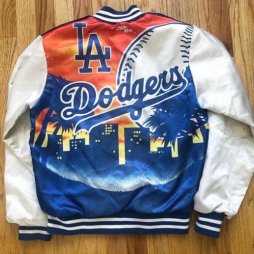 Vintage Chalk Line Los Angeles Dodgers Fanimation Jacket Sz S