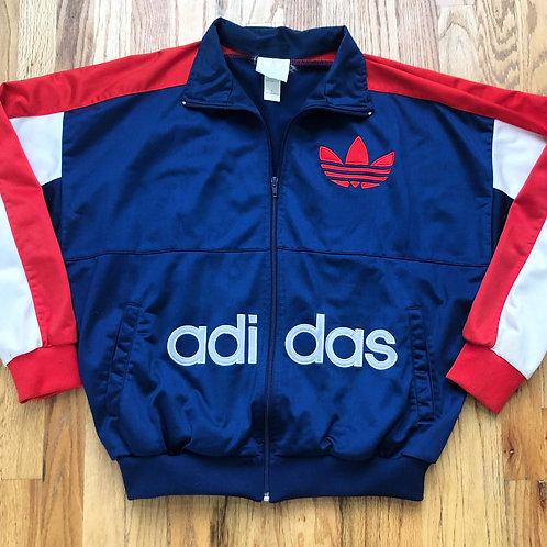 Vintage Adidas Trefoil Track Jacket Sz L