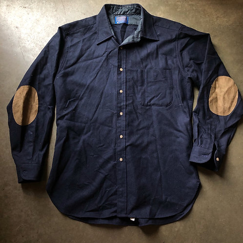 Vintage Pendleton Wool Button Up Shirt Sz L