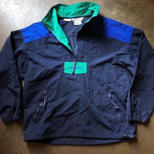 Vintage Columbia Anorak Windbreaker Jacket Sz S