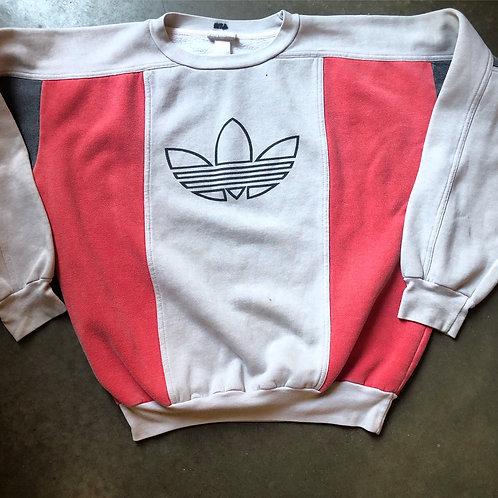 Vintage Adidas Trefoil Crewneck Sweatshirt Sz L