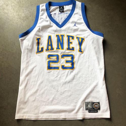 big sale 22a58 61931 Jordan Brand Laney High School Micheal Jordan Jersey Sz XL