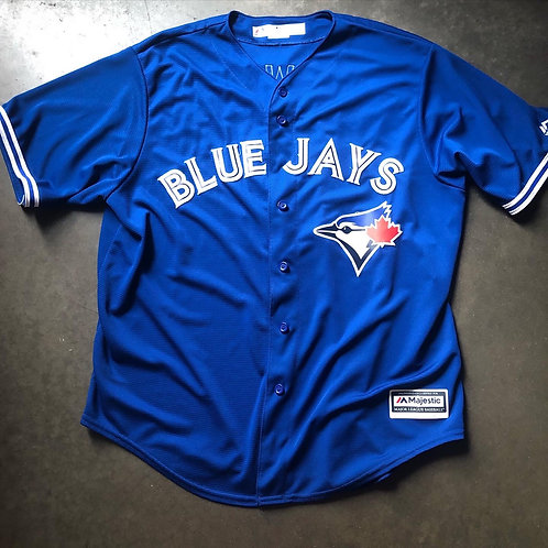 Majestic Cool Base Toronto Blue Jays Troy Tulowitzki Jersey Sz XL