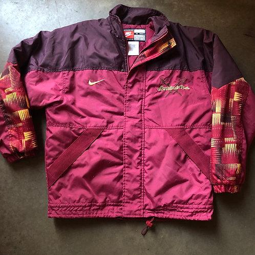 Vintage Nike Team Florida State Seminoles Jacket Sz M