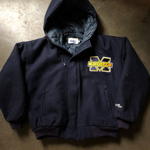 Vintage Chalk Line Michigan Wolverines Wool Varsity Jacket Sz M