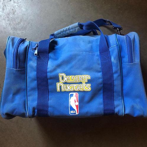 Vintage Starter Denver Nuggets Rainbow Logo Duffle Bag