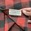 Thumbnail: Double RL Buffalo Plaid Flannel Twill Workshirt Sz M