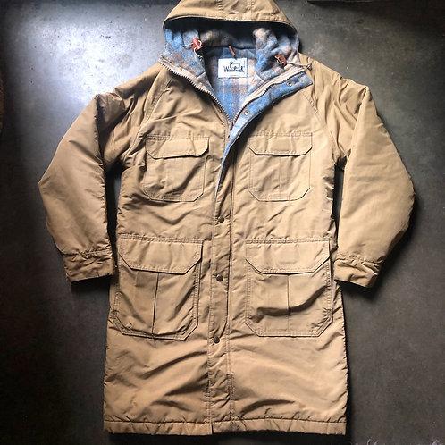 Vintage Woolrich Blanket Lined Parka Chore Jacket Sz S