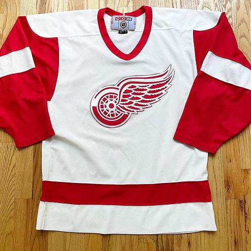 Vintage CCM Detroit Red Wings Jersey Sz M