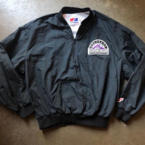 Vintage Swingster Colorado Rockies Bomber Jacket Sz XL