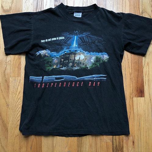 Vintage Stanley Desantis Independence Day Movie Promo T Shirt Tee Sz M