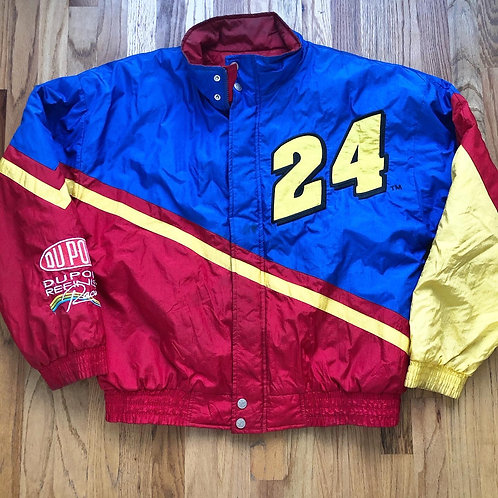 Vintage Chase Jeff Gordon NASCAR Jacket Sz XL