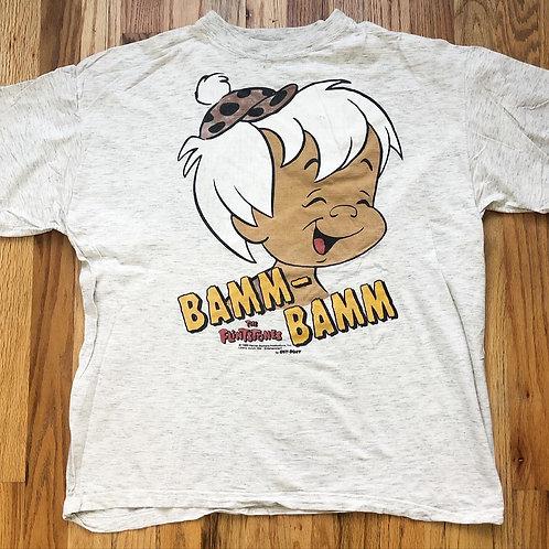 Vintage 1993 Flintstones Bamm-Bamm T Shirt Tee Sz L/XL