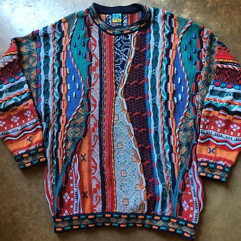 Vintage Emaroo Australia Coogi Like Crewneck Sweatshirt Sz L