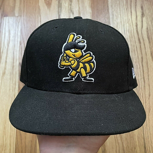 New Era 59 Fifty Salt Lake Bees Fitted Hat Sz 7 1/4