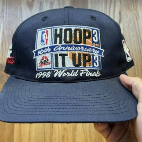 Vintage Sports Specialties Hoop It Up 3V3 Strapback Hat