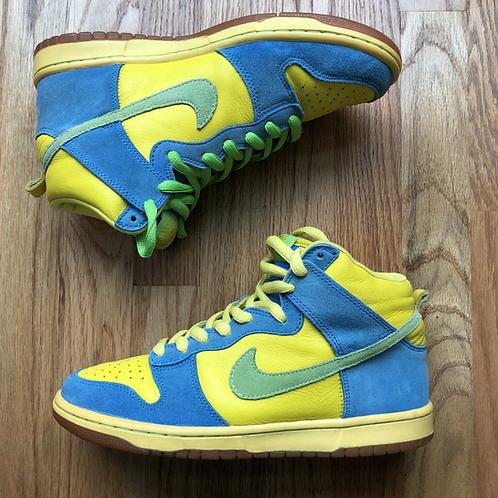 2008 Nike SB Dunk High Pro Marge Simpson Sz 8.5 (305050-731)