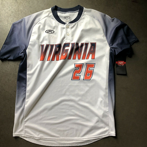 NWT Russell Virginia Cavaliers Team Issued Sample Brian O'Connor Jersey L