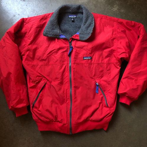 Vintage Patagonia USA Fleece Lined Bomber Jacket Sz M