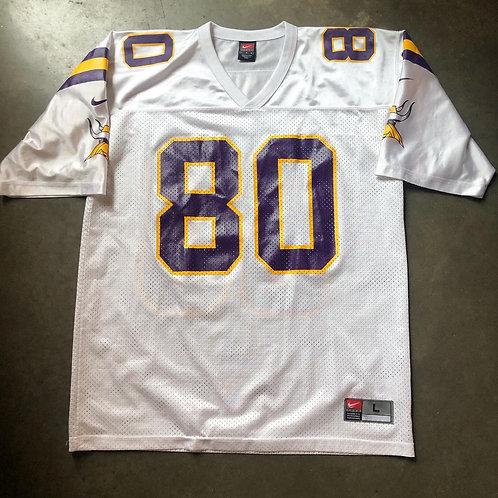 Vintage Nike Minnesota Vikings Cris Carter Jersey Sz L