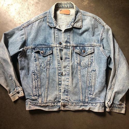 Vintage 80s Levi's USA Denim Jean Jacket Sz M