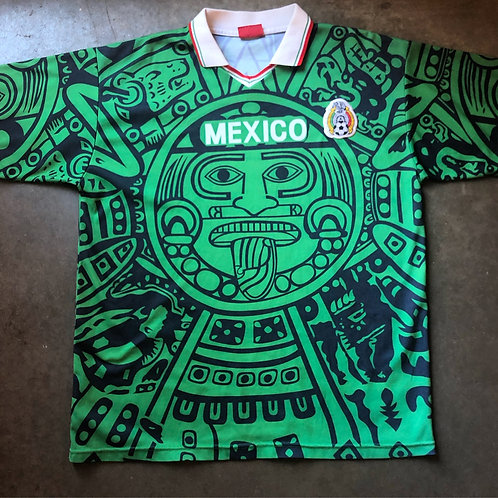 Vintage 1998 Mexico World Cup Jersey Sz XL