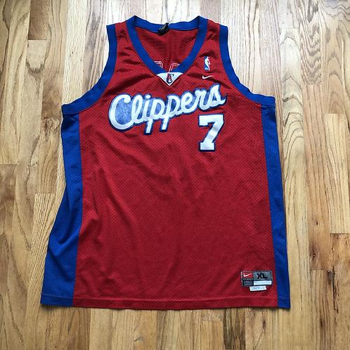 Nike Los Angeles LA Clippers Lamar Odom Swingman Jersey Sz XL