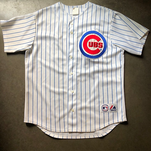 Majestic Chicago Cubs Carlos Zambrano Jersey Sz L