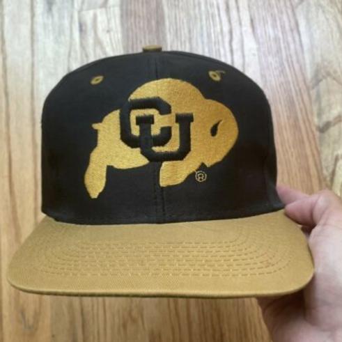 Vintage 90s Logo 7 Colorado Buffaloes Snapback