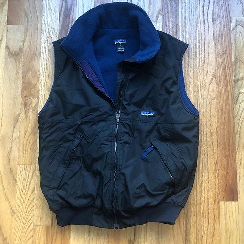 Vintage Patagonia Fleece Lined Vest Sz S