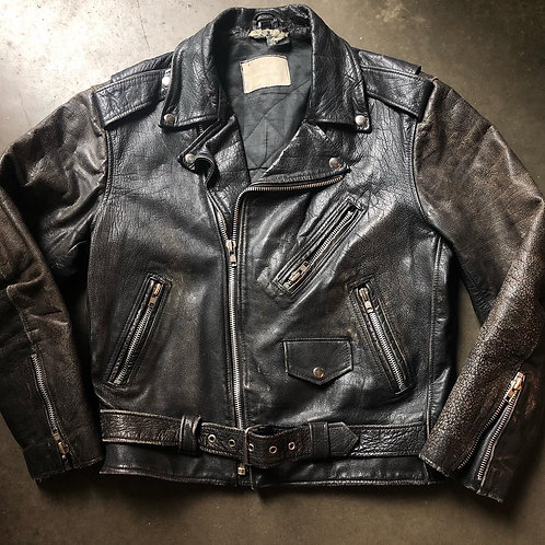 Vintage 80s Travelers Leather Motorcycle Jacket Sz M/L $99 Shipped 🚨🚨LINK IN B