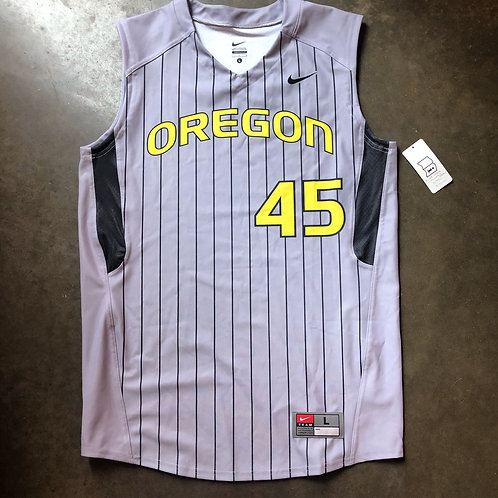 NWT Nike Oregon Ducks Team Issued Sample Baseball Jersey Sz L