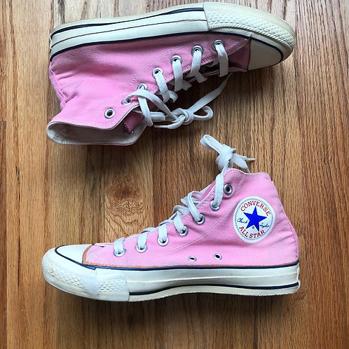 Vintage Made In The USA Converse All Star High Sz 5.5 (Women's 7)